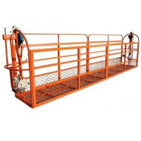 High-strength Pedal Suspended Work Platform Scaffolding Systems for sale