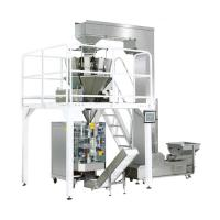 Reliable Automatic Food Packing Machine Touch Screen With Stable Transmitting PLC Control