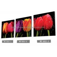 Wholesale Decoration Flower Pictures Custom Lenticular Printing Frameless PET Printing from china suppliers