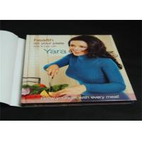 Wholesale A4 / B5 Customized Hardcover Book Printing Services With Dust Jacket from china suppliers
