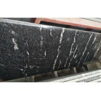Different Color Control Natural Stone Slabs Black Granite With White Vein Material for sale