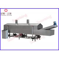 Wholesale Industrial Potato Chips Production Line , Automatic Continuous Fryer Machine from china suppliers
