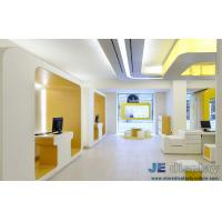 Quality Bank reception furniture and fixture by Wall display cabinets with Leisure for sale