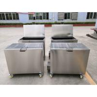 China Kitchen Hood Stainless Steel Soak Tank Degreasing / Cleaning Insert Filters 110 / 230V 50Hz on sale