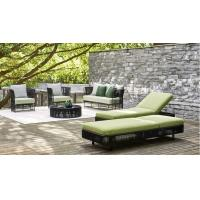Wholesale Round White Wicker Outdoor Rattan Daybed Lounge Furniture from china suppliers