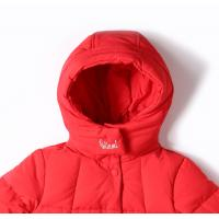 Kids Clothes Safety High Quality Outdoor Girls Long Coat Hot Fashion Winter Thick Duck Down Jacket for sale