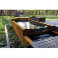 Wholesale Shaped Corten Steel Water Feature Rusty Outdoor Modern Sculpture from china suppliers