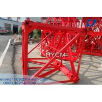 China Mast Sections For Various Project QTZ Tower Cranes Block Type for sale