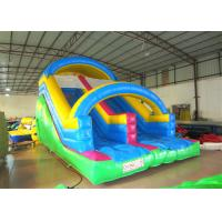 Attractive Arch Water Jump House , Outdoor Games Inflatable Garden Water Slide for sale