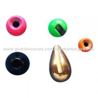 Buy cheap Tungsten colored fly fishing sinkers from wholesalers