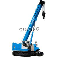 Buy cheap 3m Lifting range Hydraulic Crawler Crane for piling , 1.79rpm Slewing speed from Wholesalers
