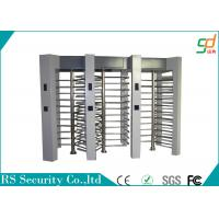 Wholesale Dual Waterproof Full Height Turnstile Pedestrian RFID Barrier Single Passge Gate from china suppliers