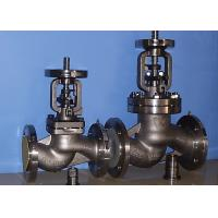 BB-BG-OS&Y Bellow Globe Valve Gear Pneumatic DIN3356 BW  Hasteloy Out Blowing Safe Stem for sale