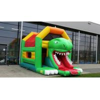 Wholesale Custom Made Multifun Inflatable Combo Aframe Metkop Bouncy Castles With Slides from china suppliers
