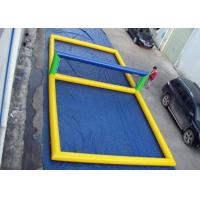 Wholesale Fun Inflatable Pool Toys Inflatable Beach Volleyball Court For Water from china suppliers