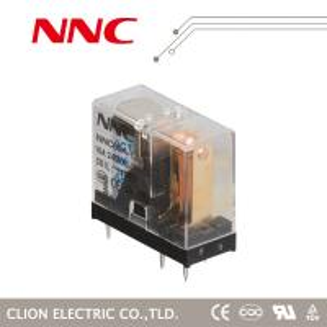 China NNC miniature PCB Relay NNC69A-1Z JQX-14FC 1C 16A 8pin, 10A 5 pin, DC 3V-24v voltage relay on sale