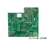 Wholesale 1.6 MM Fr4 High TG170 PCB Board , Security Lcd Display PCB Practice Board from china suppliers