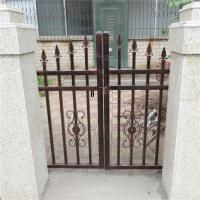 Wholesale Antique brass color wrought iron fence model DK002 from china suppliers