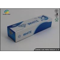Wholesale Custom Toothpaste Packing Paper Box Glossy Lamination 0.2 - 0.6mm Thickness from china suppliers