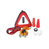 Wholesale Auto Emergency Tool Kit with Booster Cable and Tow Rope from china suppliers