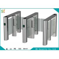 Wholesale Fingerprint High Speed Swing Barrier Gate Club Hotel Management Passages from china suppliers