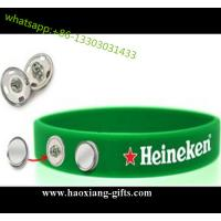 Hot Sale Cusotm Silicone wristband/Bracelet for World Cup Competition for sale