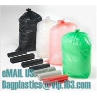 Wholesale HDPE black bags, nappy bags, nappy sack, diaper bag, alufix, rubbish bag, garbage from china suppliers