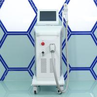 China Triple wavelength diode laser hair removal machine for sale