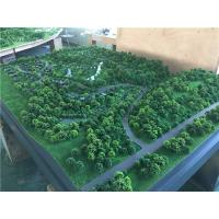1.4x1.2m Trees Model Making Materials For Architectural Tourist Mountain , Display Working Maquette