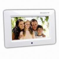Wholesale 7-inch Digital Photo Frame with 480 x 234 Pixels Resolution and Full-functional Remote Control from china suppliers