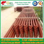 80MW Petroleum Industry CFB Boiler Superheater OEM TUV Superheater In Boiler