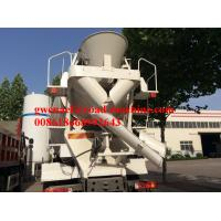 Buy cheap SINOTRUK HOWO 6 x 4 Concrete Mixer Truck 12m3 mixer tank volume LHD from wholesalers