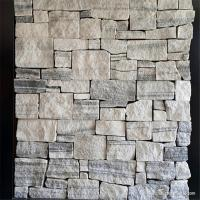 Wholesale Natural stone Cement Backing Wall Cladding Tiles / Decorative Wall Covering Stone Panels from china suppliers