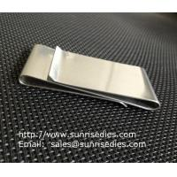 Wholesale Dual Stainless Steel Money Clips for men, double sided steel money clips, from china suppliers