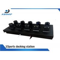 Quality 10 Ports Body Police Camera Docking Station With SOP-06 Socket for sale