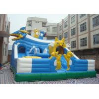 Wholesale Outdoor Huge Children Inflatable Jumping Bouncy Castle With Slide from china suppliers