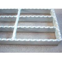 Wholesale 40 X 5 Serrated Bar Grating , Metal Building Hot Dipped Galvanised Steel Grate from china suppliers
