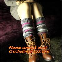 China boots socks, Leg warmers, thick warm wool, acrylic, blend female loose, socks boots on sale