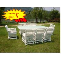 Wholesale All Weather Wicker Patio Furniture 9pcs Rattan Garden Dining Set Outdoor from china suppliers