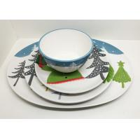 Wholesale Platter Dinner Plate And Salad Bowl Set Ceramic Houseware Of 4 Dinner Set For Christmas from china suppliers
