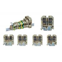 Wholesale Plug In Combined Rail Mounted Terminal Blocks , Quick Connect Terminal Block SAK/JXB from china suppliers