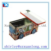 Wholesale Large size  car shape cookie candy tin box from china suppliers