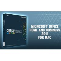 Wholesale Microsoft Office 2011 Home and Business for Mac- for Mac online activation - license from china suppliers