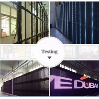 Buy cheap P31.25 SMD3535 AC110V Transparent LED Screen 6500nit/sqm For Glass Building from wholesalers