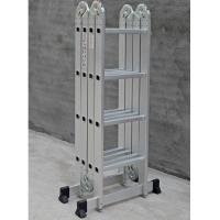 China Multipurpose use EN131 Safety aluminum telescopic ladder for various using for sale