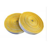 Canvas Braided Cloth Air Slide Belt PU Coated For Roller Conveyor Systems