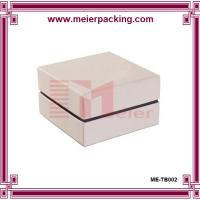Wholesale Ivory square cardboard cosmetic box, perfume box, paper gift box ME-TB002 from china suppliers