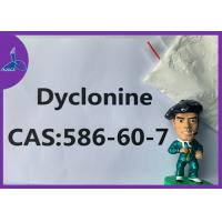 China CAS 586-60-7 Local Anesthesia Drugs Dyclonin Bmk Glycidate White Powder on sale