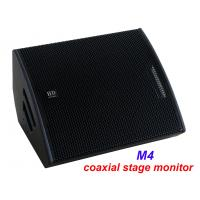 China PA Sound Equipment 480W 3 + 15 Plywood Coaxial Stage Monitor For Living Event And Show on sale
