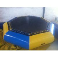 Quality Customzied Inflatable Water Toys , Inflatable Water Trampoline For Jumping for sale